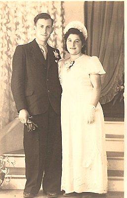 René&e Deloumeau et Albert Chiron en 1944, fiancés 001