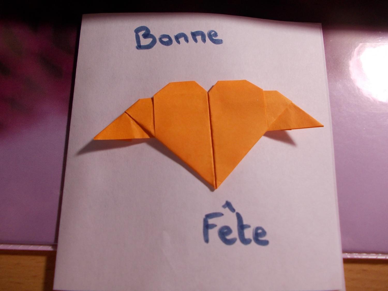 Célèbre Carte fête des mères et origami - LocaZil KI75