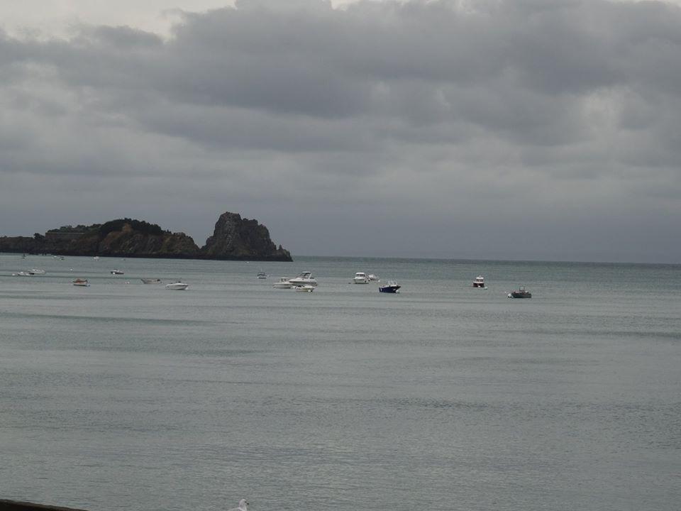 L'image contient peut-être: océan, ciel, nuage, plein air, nature et eau