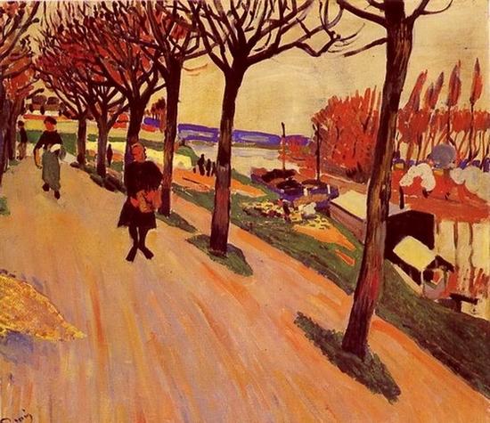 André Derain, La seine au Pecq