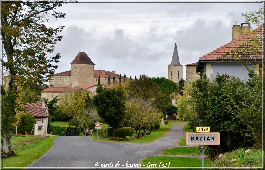 Bazian - Villes et villages du Gers - 32 (1)