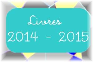 Mes livres pour 2014.