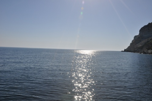 Marina d'Albu au Cap Corse.