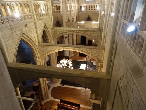 Autour de la Cathédrale Zainte Marie (Cathédrale vieille) de Vitoria en Espagne (photos)