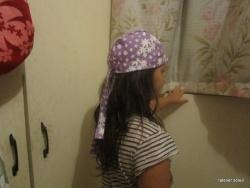 des chapeaux et des bandanas
