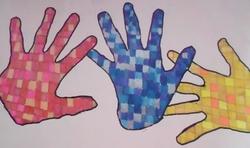 Mise en scène de nos mains ... nos mains sont des oiseaux , des ...