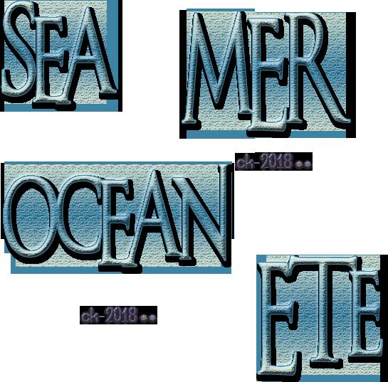 Mer - Sea - Ocean - Ete