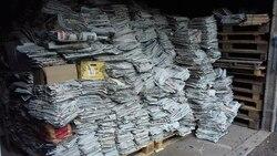 Benne à journaux du 24 mai