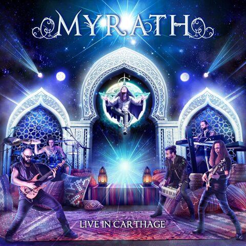 MYRATH - Les détails du CD/DVD live Live In Carthage