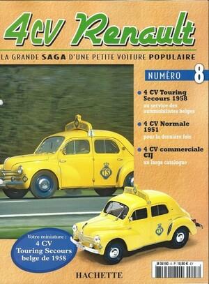 4cv Touring secours Belge 1958