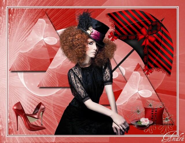 FAC0041 - Tube femme chapeau