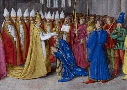 Charlemagne ou Charles Ier le Grand , en latin Carolus Magnus (742 — 814) CAROLINGIEN