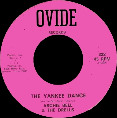 "Archie Bell & The Drells : Album "" Tighten Up "" Atlantic Records SC 8181 [ US ]"