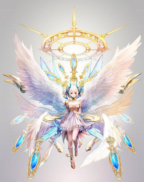 anjo,angel,anime ,art: