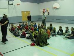 Galerie photos pratique d'évacuation dans les écoles le 7 octobre 2011