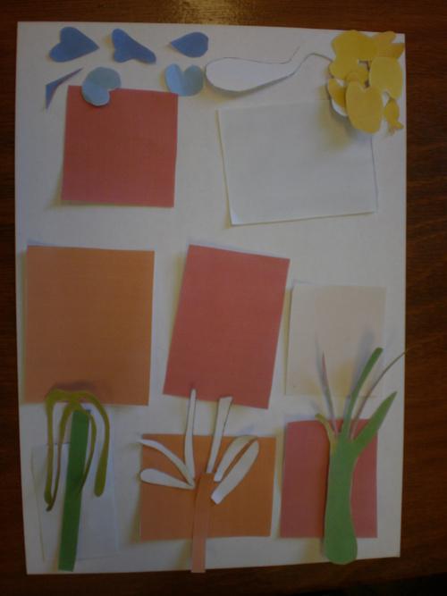 """Séance art visuel : Matisse """"les végétaux"""""""