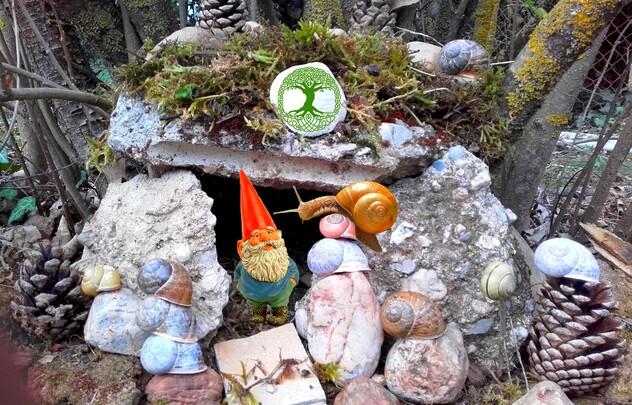 Gnome et escargot