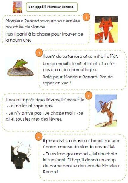 Bon appétit Monsieur Renard CP
