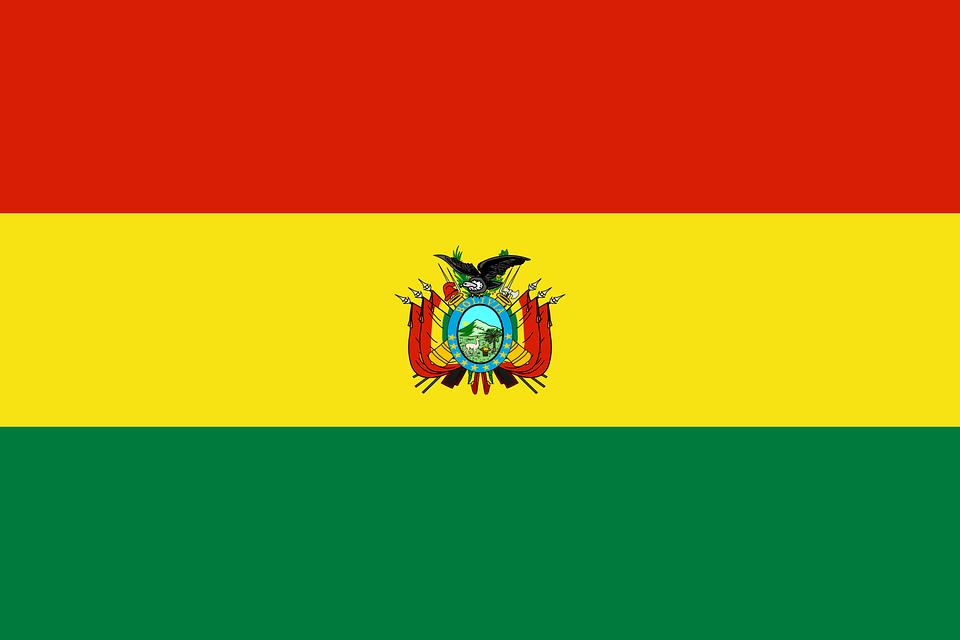 Bolivie, Drapeau, Drapeau National, Nation, Pays