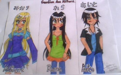 Mikari, Rera et Aito (1)