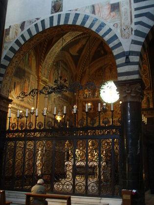 Les Saintes reliques : La ceinture de Marie