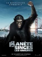 La Planète des singes Les Origines affiche