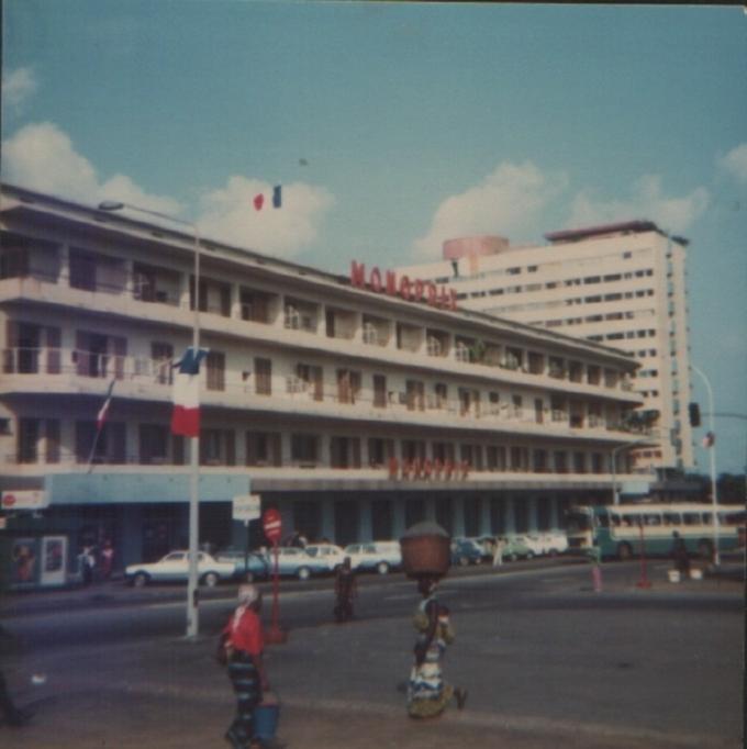 Dany en Côte d'Ivoire en 1982