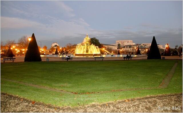 La fontaine du Mail - Angers