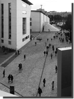 photo prise de la terrasse du 2ème étage