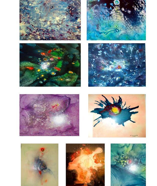 Quelques-unes de mes oeuvres
