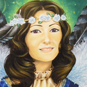 Portrait Chouet'Mama (huile)