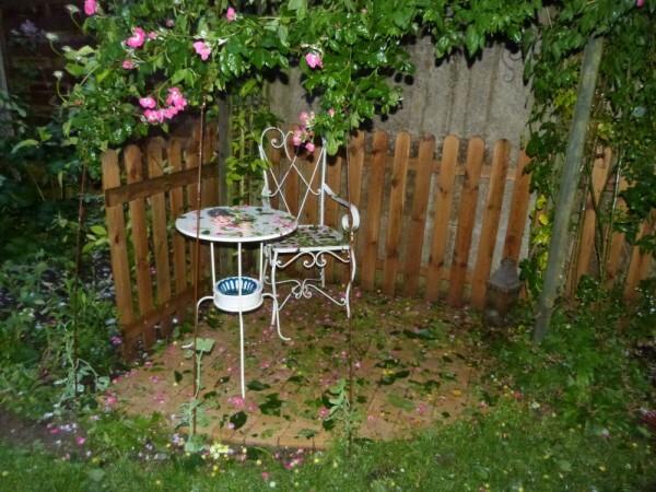 orage de grêle - 8 juin 2014 - le boudoir après l'orage