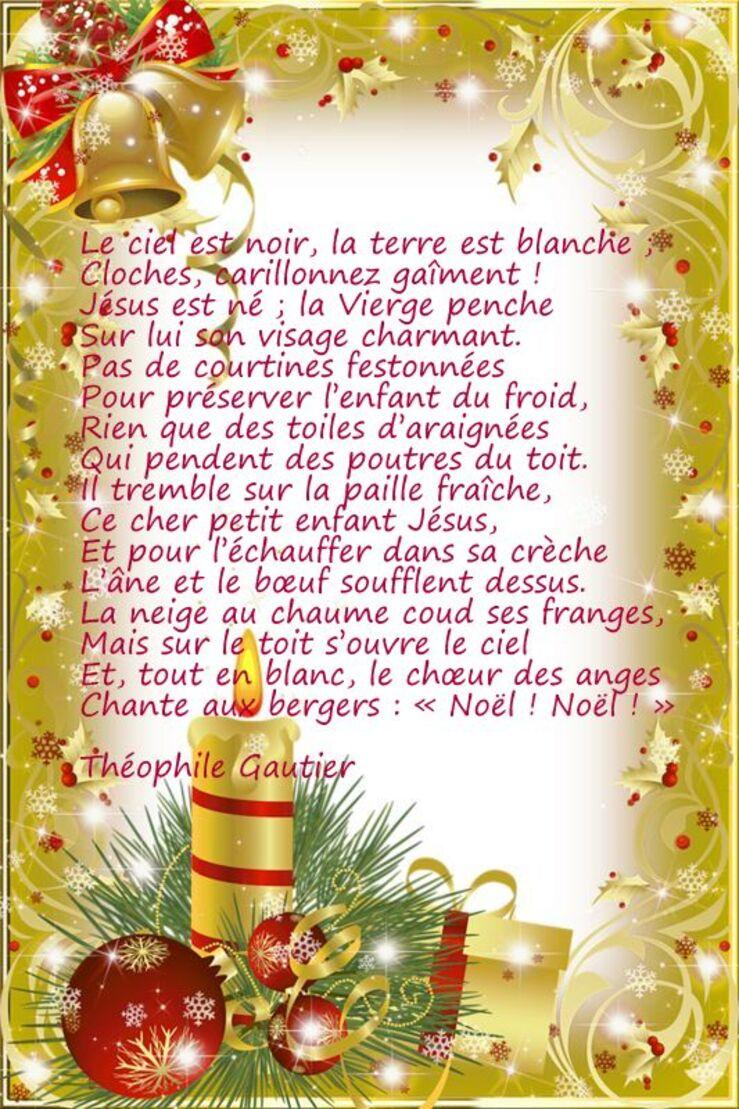 Une poésie de Noel