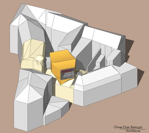 Portfolio axonométrique (et alternatif) 01 : Projets d'étudiants