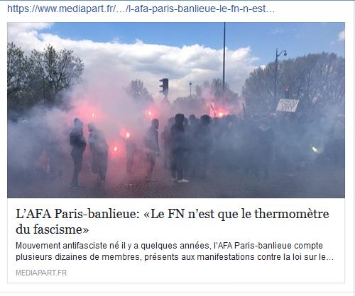 Itw de l'AFA Paris-Banlieue sur Médiapart