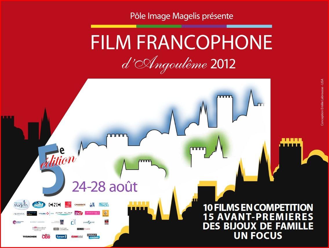 Affiche film francophone Angoulême 2012