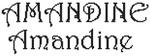 Dicton de la Ste Amandine + grille prénom   !