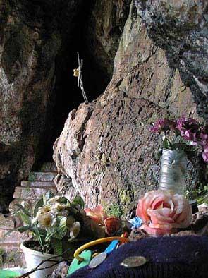 Bidarray, la grotte du Saint qui sue (Arpeko Saindua)