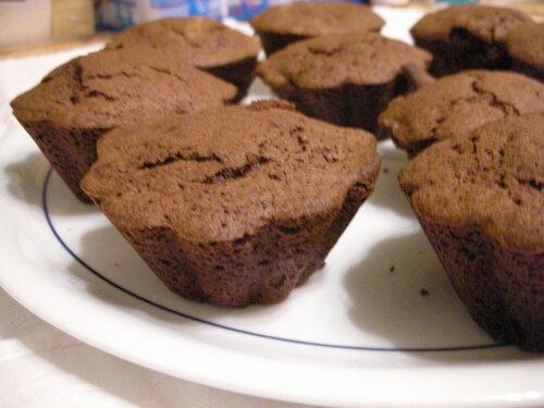 cuisine cupcake chocolat
