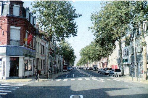 Le boulevard Gambetta à l'angle de la rue du 29 Juillet