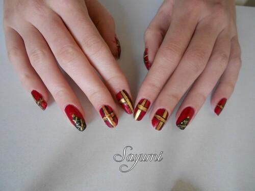Nail Art de Noël 2013
