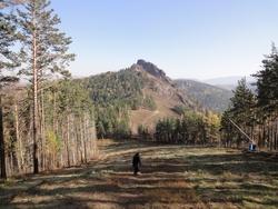 Krasnoyarsk, les pierres volcaniques