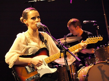 Live : Anna Calvi - Black Session - 17 Janvier 2011