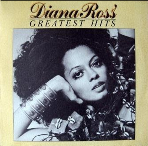 "Diana Ross - 1976 : Album "" Diana Ross' Greatest Hits "" Motown Records M6-869S1 [ US ]"