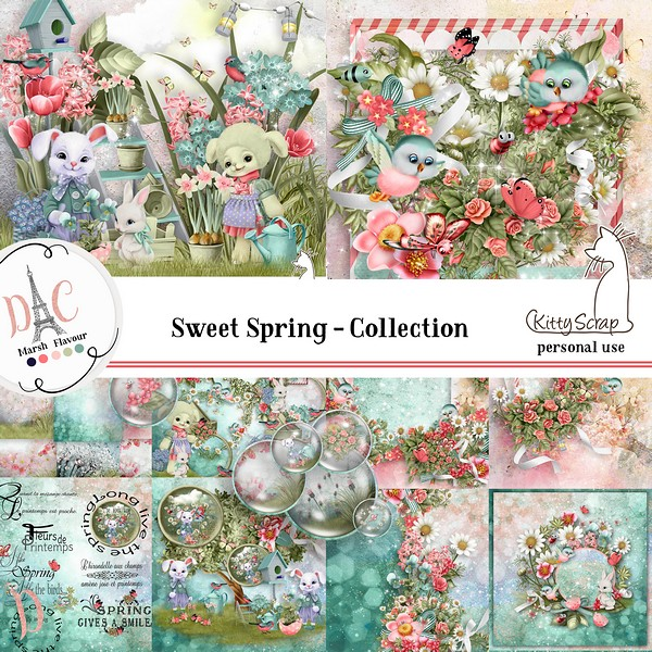 Flavor sweet spring collection de kittyscrap