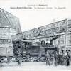mont st martin passerelle en 1913 meurthe et moselle