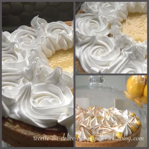 Recette tarte au citron au mascarpone