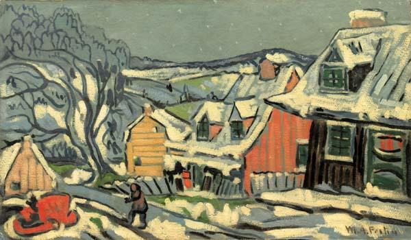 Peintures de : Marc Aurèle Fortin