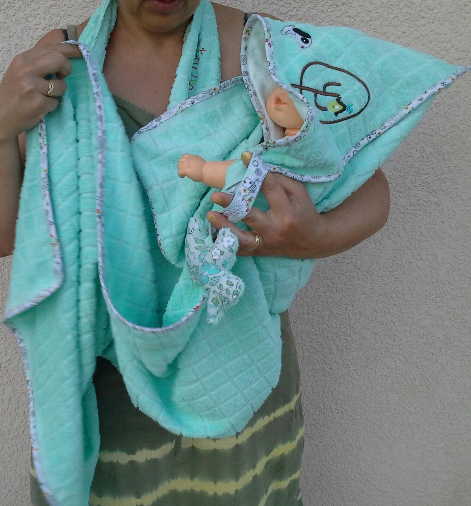 Gut bekannt Sortie de bain bébé évolutive - LilouLoli et Cie VN63