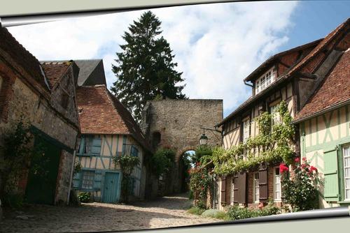 Gerberoy. Un village comme autrefois.